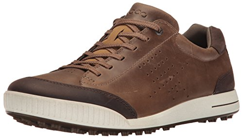 Ecco Men's Golf Street, Chaussures Homme, Marron (Birch/Coffee 50411), 43 EU