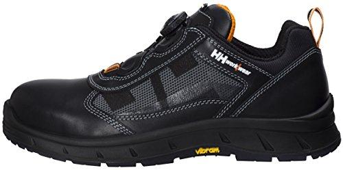 Helly Hansen Workwear Sicherheitsschuhe S3 HRO SRC HellyHansen 78209 OSLO BOA WW Arbeitsschuhe mit Boa Schnürung schwarz/gelb, 47, Gelb, 78209 Orange
