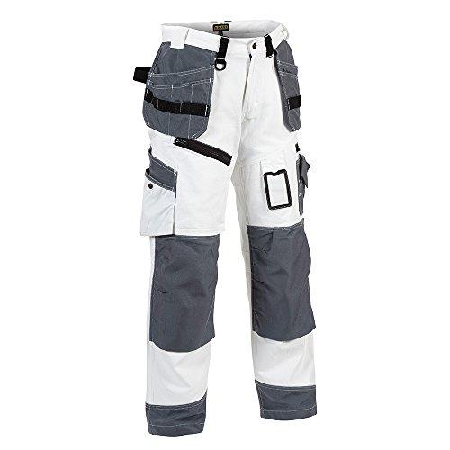 """Blåkläder Workwear Arbeits-Bundhose Maler """"X1500"""", 1 Stück, C52, weiß / grau, 67-15101210-1094-C52"""
