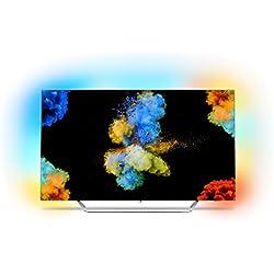 Philips 55POS9002 Smart TV da 55'' OLED, 4K Razor-Slim, Ambilight, Powered by Android