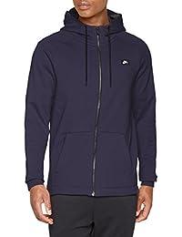 Nike 805130, Sudadera con Capucha para Hombre, Azul, Large