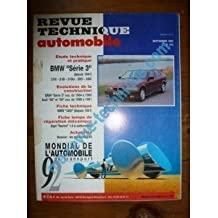RTA0543 - REVUE TECHNIQUE AUTOMOBILE BMW SERIE 3 depuis 1991 316i - 318i - 318is - 320i - 325i