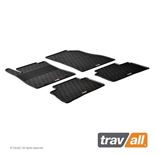 Travall Mats Gummifußmatten TRM1145 - Allwettermatten nach Maß Fussmatten Set (2012 Juke Nissan Zubehör)