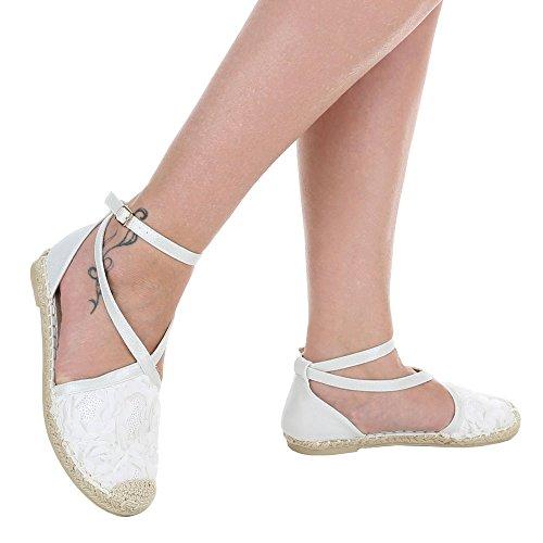 Ital-Design - Scarpe chiuse Donna Bianco