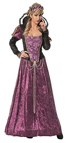 L3202630-44 lila Damen Rokoko Kleid Barock Kostüm - Barock Kleid Kostüm