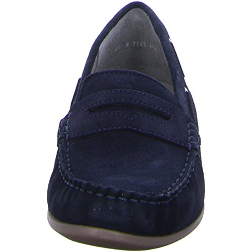 ara 30765-05, Scarpe stringate donna Blu ozean Weite G Blu (ozean Weite G)