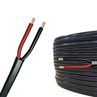 AUPROTEC 10m Flachkabel 2 adriges Elektrokabel Anhängerkabel 2 x 2,5 mm²