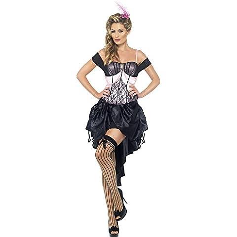 Smiffy's - Disfraz de burlesque adultos, talla S (22120S)