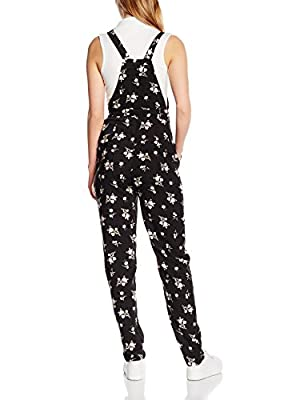 New Look Women's Edna Ditsy Dungarees