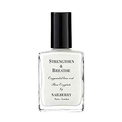 Nailberry Strengthen and Breathe Oxygenated Base Coat and Nail Strengthener 15 ml