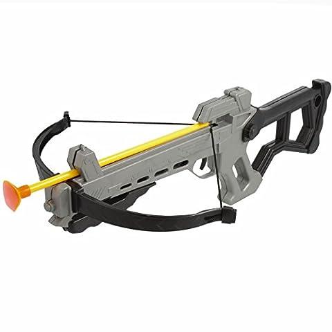 Kinder-Armbrust Pistolenarmbrust Spielzeug Crossbow Hand Bow 40 cm inklusive 4 Pfeilen (Hunter Bow)