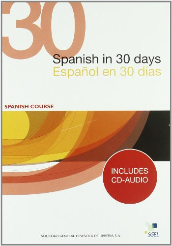 Español en 30 días + CD (En 30 Dias)