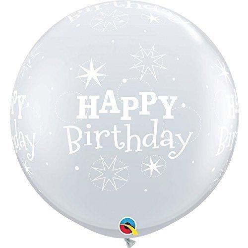 Unbekannt Qualatex 529713Ft Geburtstag Sparkle-a-Round Diamant klar Latex Luftballons 02 Preisvergleich