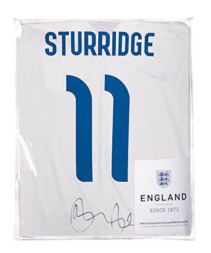 Daniel-Sturridge-Official-England-Signed-England-2014-Home-Shirt