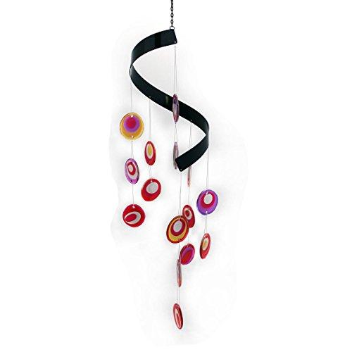 Windspiel aus Glas Gall&Zick Suncatcher mobile für drinnen und draussen klangspiel