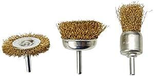 Cogex 30004 Brosse métallique pour perceuse