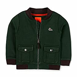 Cherry Crumble Box Fleece Jacket For Boys & Girls