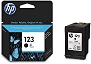 HP 123 Black Original Ink Advantage Cartridge - F6V17AE