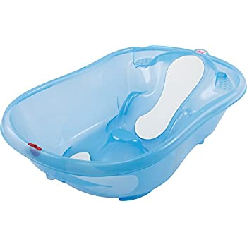 Okbaby Onda Evolution Baby Bath Tub (Transparent Blue): Amazon.co ...