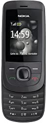 Nokia 2220 slide Handy (MP3, GPRS, Ovi Mail. Flugmodus) [EU-Version] graphit