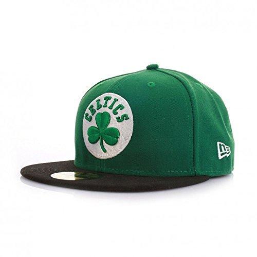 Casquette NEW ERA 59 fiftys - Boston Celtics - Green/Black, Vert, 7