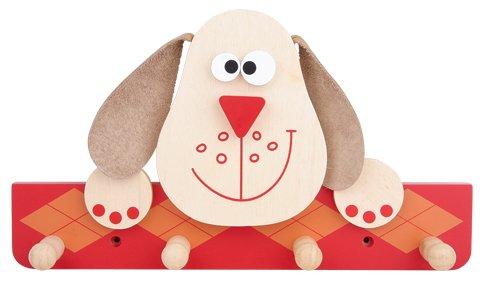 Scratch Europe - Kinder Holz-Garderobe Hund