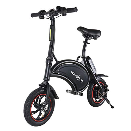 Windgoo Bicicletta Elettrica, E-Bike, Bicicletta Elettrica Pieghevole,Ruota 12'', LG 36V/4.4Ah, Motore 350 W, velocità Max 30 Km/h (B15)