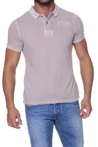 Armata di Mare Herren Shirt Poloshirt SEASIDE Beige