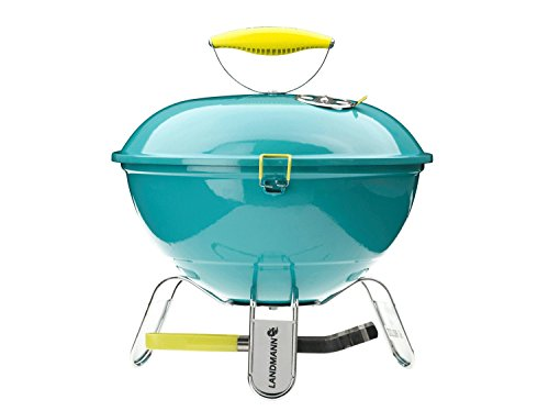 LANDMANN PICCOLINO - BARBACOA PORTATIL  34 CM  COLOR TURQUESA