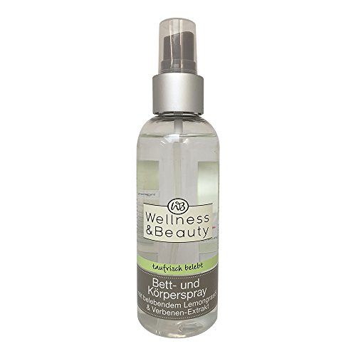 Wellness & Beauty Bett-und Körperspray mit Lemongrasöl & Verbenen Extrakt 150ml
