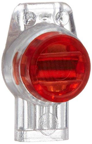 rc-junter dbr3 – Pack de 10 Connecteurs étanche pour 3 Cables Electriques, couleur rouge