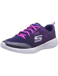Skechers Girls' Go Run 600-sparkle Speed Trainers
