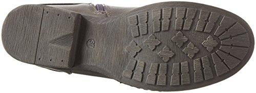 Jane Klain Stiefel, Bottes et bottines à doublure chaude femme Gris - Grau (250 Dk Grey)