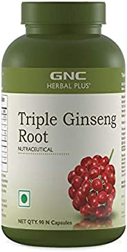 GNC Triple Ginseng Root - 90 Capsules