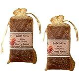 Pack Of 2 Artisan Goat Milk Soaps- Cherry Almond (2 Pack - 5 Oz Bars)