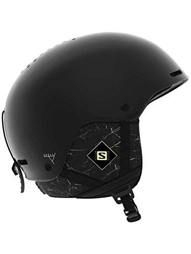 Salomon spell+, casco da sci donna, black marble, s