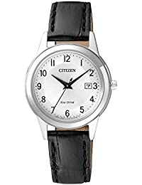 Citizen Damen-Armbanduhr Analog Quarz Leder FE1081-08A