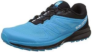 Salomon Sense Pro 2 Scuba Running Shoes, Men's Size 7 (Blue)