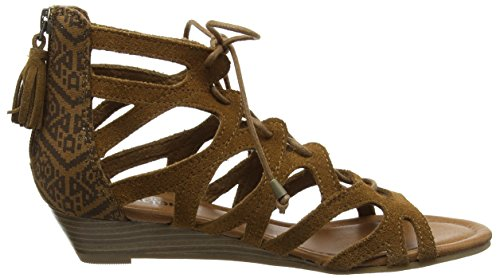 Minnetonka - Merida Ii, Sandales Pour Femmes Braun (dusty Brown Dmp)