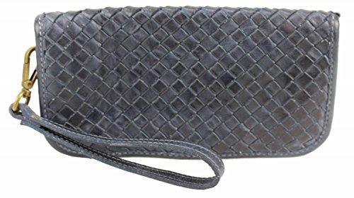 BZNA Berlin Mira blue Wallet sheep Leather Leder Portemonnaie Geldbörse Clutch