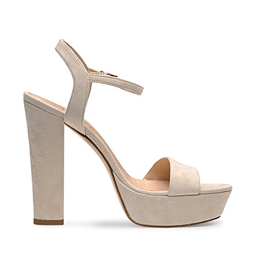 STEFANIA sandales femme daim Beige