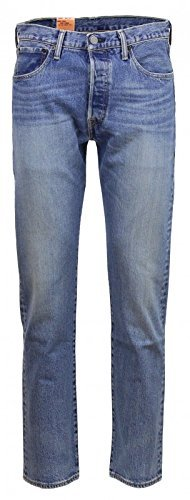 Levis 501 Original Fit Herren Jeans , Farbe:blau;Weite/Länge:W36/L32 (501 Jeans Fit)