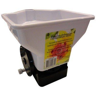 Universal Handstreugerät, Streuer für Streusand, Rasensaat, Streusalz, etc.. 3 Liter Fassungsvermögen! Streumaschine, Handstreuer, Streugerät, Ausstreuer,...