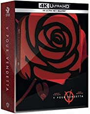 V pour Vendetta [Édition Titans of Cult-SteelBook 4K Ultra HD + Blu-Ray + Goodies]