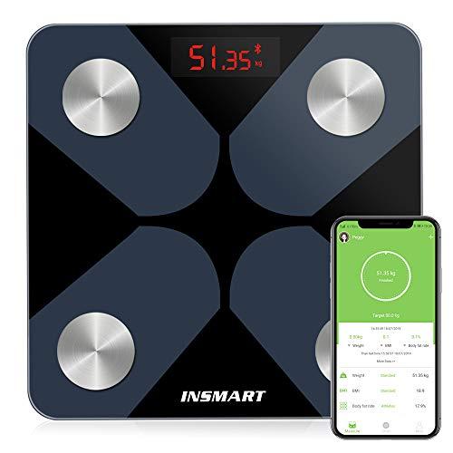 Bluetooth Body Fat Scales, INSMA...