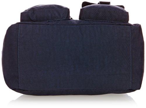 Kipling Damen Defea Schultertaschen, 33 x 25 x 19 cm True Blue