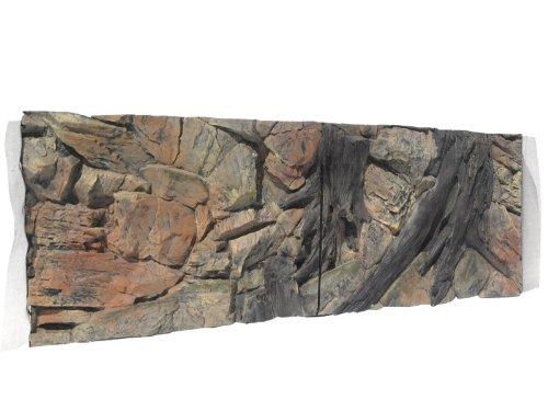 Aquarium Rückwand 3d 150x50cm Wurzel bei Robizoo