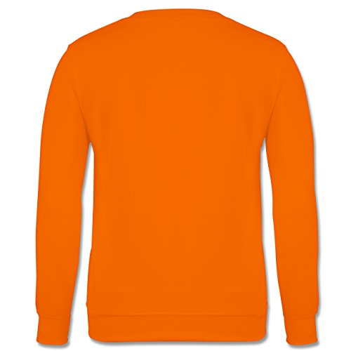 Fußball - Every girl has two sides - Fußball - Herren Premium Pullover Orange