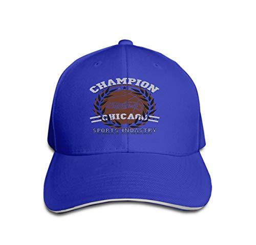 Xunulyn Unisex Trucker Hat Cap Cotton Adjustable Baseball Dad Hat Chicago Basketball Graphic Sport Emblem Design Print Label