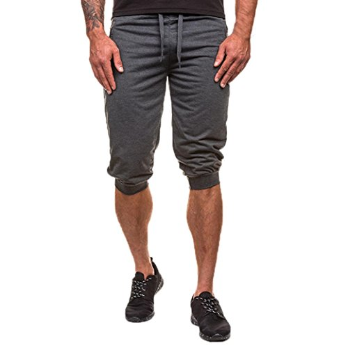 Uomo Pantaloncini Yesmile Pantaloni sportivi uomo Jogging Leggings sweatpants Pantaloni allenamento Trousers Men s sport training bodybuilding estate
